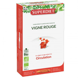 Super Diet Vigne Rouge Bio 20 Ampoules