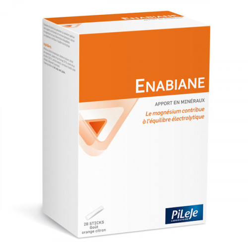 Pileje Enabiane 28 sticks saveur orange citron