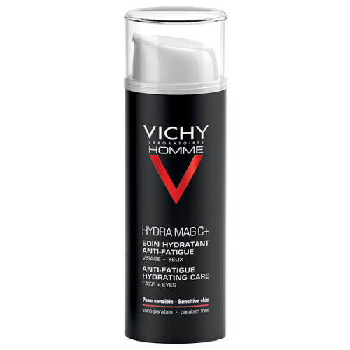 Vichy Homme Hydra Mag C+ Soin Hydratant Anti-Fatigue 50 ml