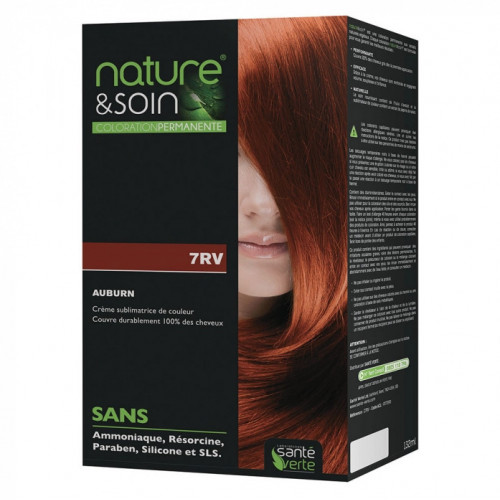 Santé Verte Nature & Soin Coloration Permanente Auburn 7RV
