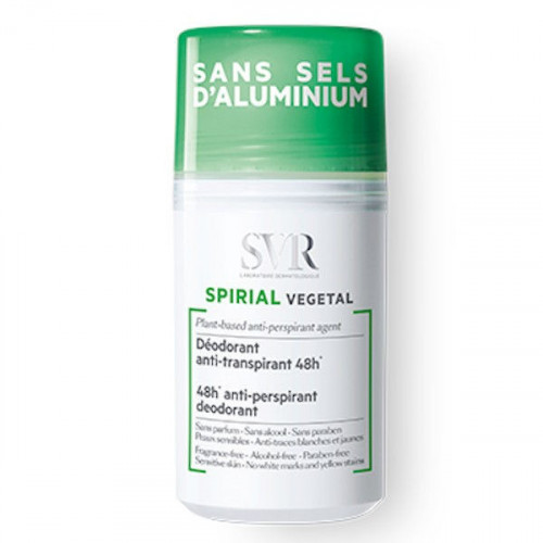 SVR Spirial Déodorant Anti-Transpirant Végétal Roll-on 50 ml