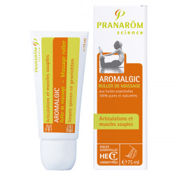 Pranarôm Aromalgic Articulation et Muscles Souples Roller de Massage 75ml