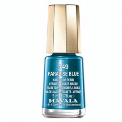 Mavala Mini Color Vernis à Ongles Crème Paradise Blue 5 ml