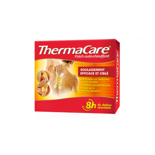 Thermacare 3 Patchs Chauffants Multi Zones