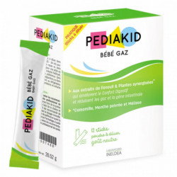 Pediakid Bébé Gaz 12 sticks