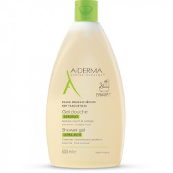 Aderma Gel Douche Surgras 500ml