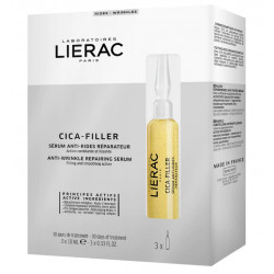 Lierac Cica-Filler Sérum Anti-Rides Réparateur 3 Ampoules x 10 ml