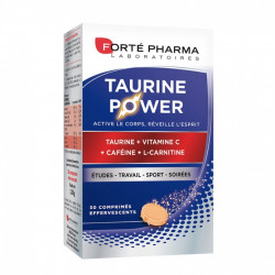 Forté Pharma Energie Taurine Power 30 Comprimés Effervescents