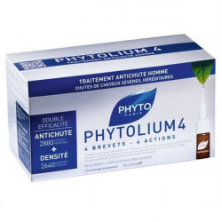 Phyto Phytolium 4 Concentré Intensif Anti Chute Homme 12 Ampoules