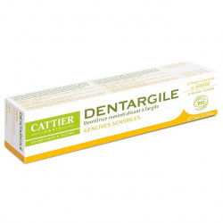 Cattier Dentargile dentifrice Sauge bio 75 ml