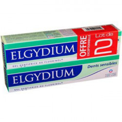 Elgydium Dentifrice Dents Sensibles Lot de 2 x 75ml