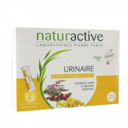 Naturactive Urinaire 20 Sticks Fluides