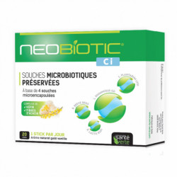SANTÉ VERTE NEOBIOTIC CI 20 STICKS