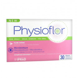 LABORATOIRES IPRAD PHYSIOFLOR 30 GÉLULES